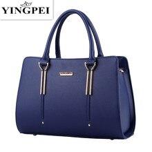 Yingmei bolsas femininas casuais, bolsas femininas de luxo, sacola para mensageiro, com bolso, de alta qualidade