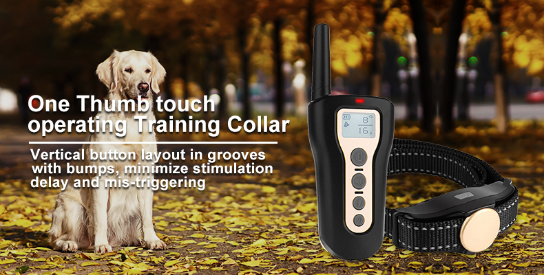 dog anti barking collar