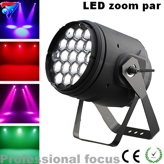 Free shipping 19X15w 4in1 LED zoom par light stage light for party dj light Christmas Decorations