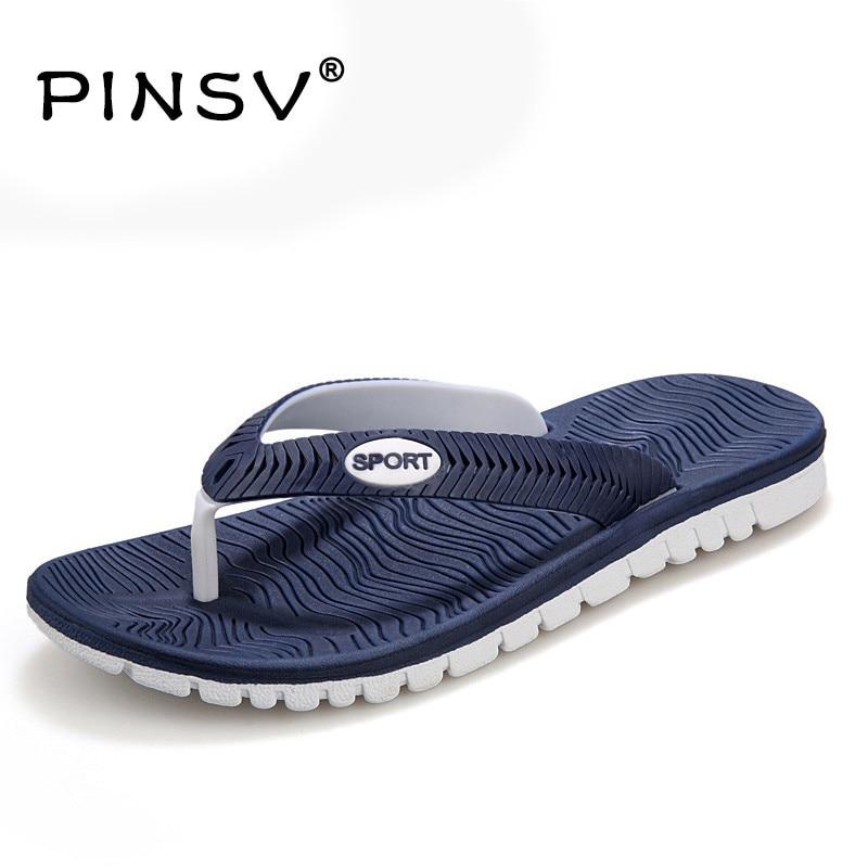 ca449803c5e11 New Summer Shoes Men Flip Flops Flats Beach Slippers Flip Flops Mens Beach  Shoes For Men Slippers Sandalias Hombre Size 40-45