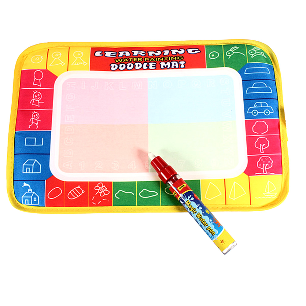 29x19cm Children Aqua Doodle Drawing Toys Baby Kids Painting Drawing Educational Water Writing Toy Mat Board with Magic Pen