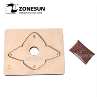 ZONESUN D2 Custom Leather Coin Purse Cutting Die Cutter Clicker Steel Rule Die Leather Pucnhing Tool For Die Cutting Machine