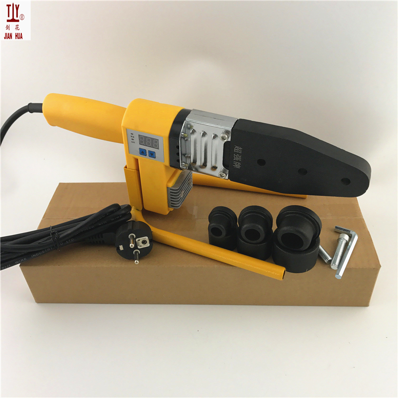 1 Set New 20-32mm Digital Display Devices Plastic Pipes Welder Water Heating Element Welding Machine PPR