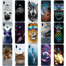 case for huawei P20 LITE case cover for huawei p20 pro case back cover silicone 360 full protective P 20 Lit Coque etui clear(China)