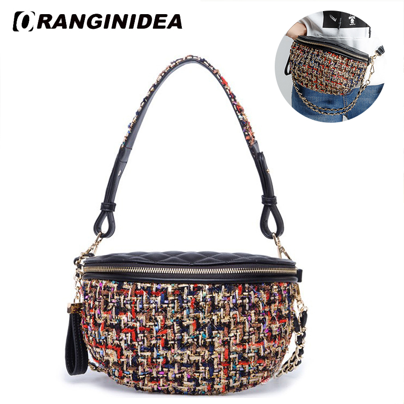9f8dec0455b7 Click here to Buy Now!! Femmes Taille Sac Bourse D. 123. 11 01 11 02. femmes  Taille Sac Bourse D argent Ceinture Sacs Lady Fanny ...