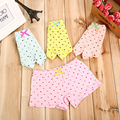 5 colors bowknot Girl underwear , children cute briefs kids panties children underwears 1-11year cotton Fashion Girls boxers
