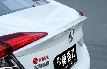 JINGHANG Per Honda Civic 2017 2018 ABS vernice Auto Ala Posteriore Tronco Lip Spoiler