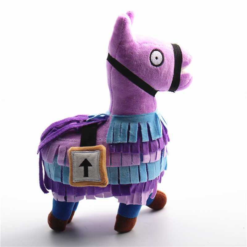 20-35cm Fortress Night Hot Game Plush Toy Troll Stash Llama Soft Alpaca Rainbow Horse Stash Stuffed Toys Kids Birthday Gift 1