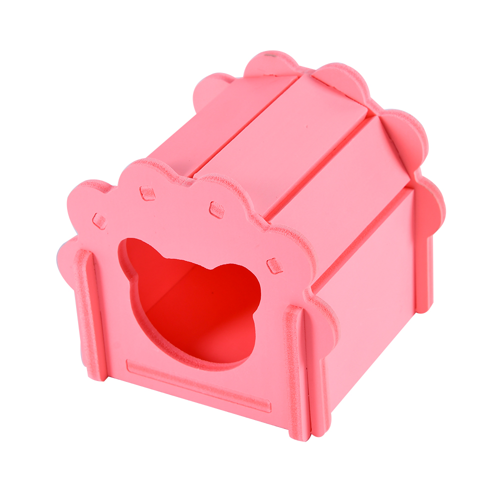 pet house for chinchillas cage for rats Guinea pig cavies carrier accessories for hamster hammock rat small animals supplies rabbit hutch cage hamster pink (2)