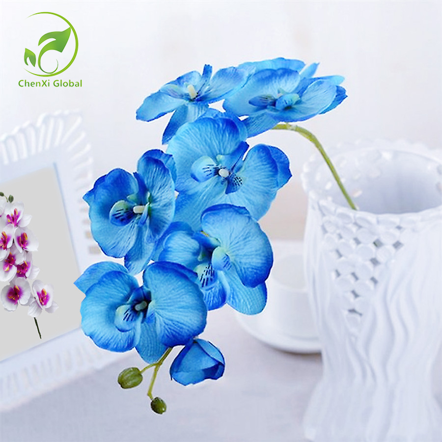 Hot sales orchid 9 colors artificial flowers diy decorative orchid hot sales orchid 9 colors artificial flowers diy decorative orchid silk flower bouquet phalaenopsis for wedding mightylinksfo