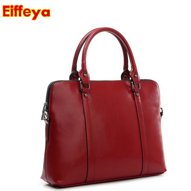 e081ed7647 Wholesale Handbag Wax Cowhide Work Bag Portable Laptop Bags Woman Genuine  Leather Handbag Women s Motorcycle Bag