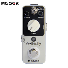 PROMOTION!!NEW Effect Pedal /MOOER E-lady Pedal True bypass Classic analog flanger sound eleclady effect