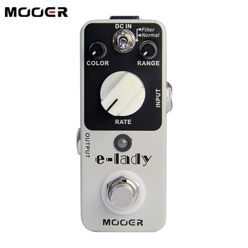 PROMOTION NEW Effect Pedal  MOOER E-lady Pedal True bypass Classic analog flanger sound eleclady effect