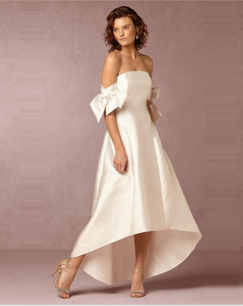 Online Get Cheap Simple Ankle Length Wedding Gown -Aliexpress.com ...