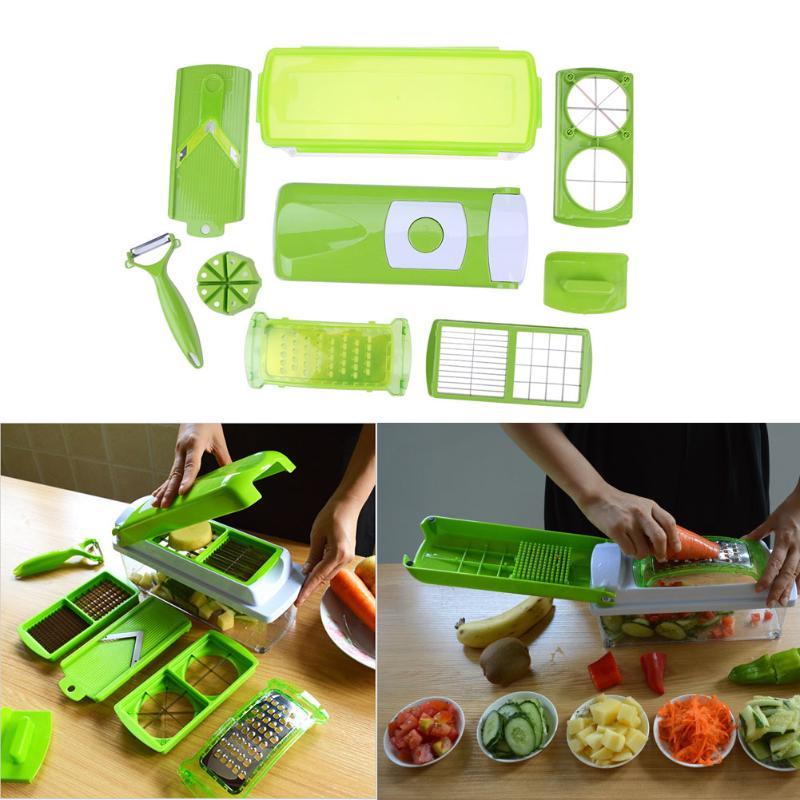 12/<font><b>set</b></font> multifunctional shredder Vegetable slices Kitchen cutter fruit shredder Potato Carrot Grater Cooking Tools