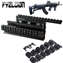 Tactical Universal Quad Rail Scope Mount RIS Handguard for AK47 AK74 AKS Hunting Shooting Airsoft Rifle Accessory Caza