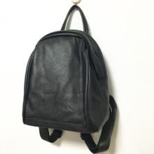 Оптовая цена завода винтажные женские рюкзак 100% из натуральной мягкой кожи Bagpack элегантный дизайн девушки школьные сумки дорожные Mochila
