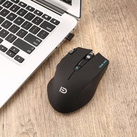 Professional Gaming Wireless Mouse High Speed 500MHZ Gaming Mouse with X2 Button with Colorful 6-Color LED Light i750