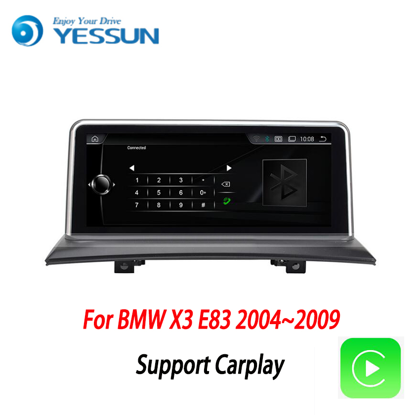 YESSUN Android Radio Auto multimedia Player Für <font><b>BMW</b></font> <font><b>X3</b></font> <font><b>E83</b></font> 2004 ~ 2009 stereo radio multimedia GPS-navigation mit WIFI bluetooth image