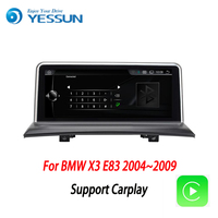 YESSUN Android Radio Car multimedia Player For BMW X3 E83 2004~2009 stereo radio multimedia GPS navigation with WIFI Bluetooth