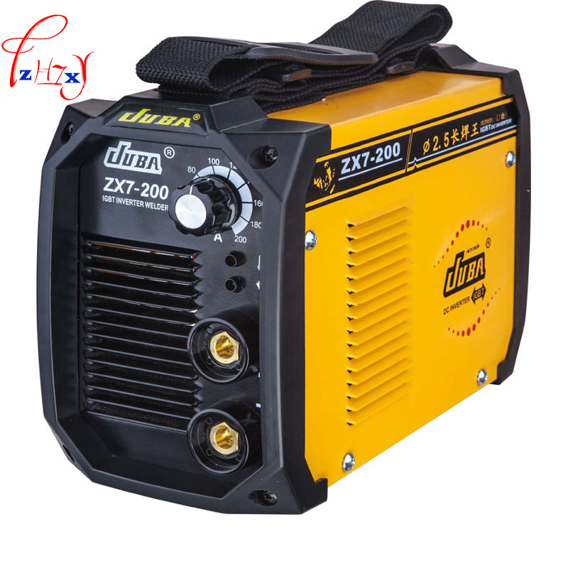 JUBA welder IGBT Portable Welding Inverter MMA ARC ZX7-200  Electric welding machine portable arc welder household inverter high quality mini electric welding machine 200 amp 220v for household