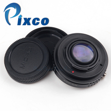 Pixco Focal Reducer Speed Booster Lens adapter suit for Nikon G mount to Micro 4/3 M4/3 GX7 GH3 GH4 E-M1 E-M5 E-PL6 E-P5