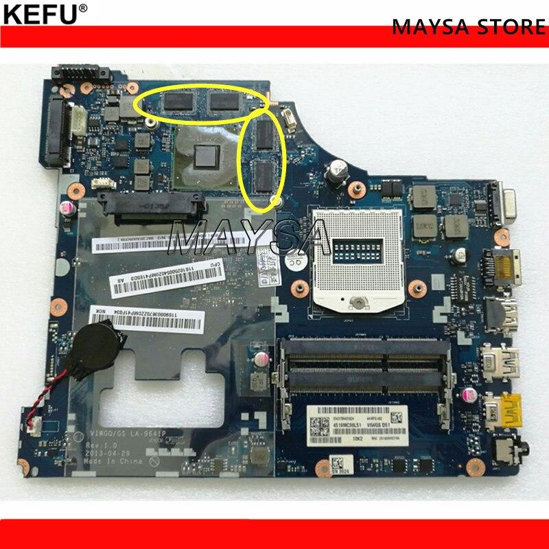 original VIWGQ/GS LA-9641P motherboard for Lenovo G510 laptop motherboard HM86 PGA947 LA-9641P mainboard with 8video memories все цены