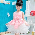 Girls Dress Children's Princess Dresses For Wedding Party Kids Birthday Dress for Girl 2016 Brand New Style baby clothes