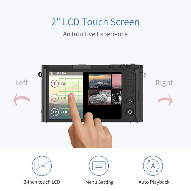 YI M1 Spiegellose Digital Kamera Prime Zoom Objektiv LCD Minimalistischen Internationalen Version 20MP Video Recorder 720RGB Digital Cam - 3