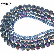 Wholesale Aaa + Natural Gray Crystal Of Rock Quartz Stone Beads For Jewelry Making Diy Bracelet Necklace  6 / 8 10 12 MM