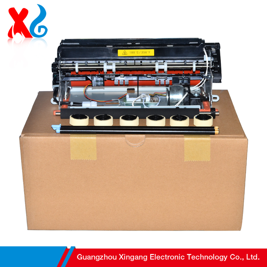 Hot! 220V Fuser Assembly Fuser Unit Kit for Lexmark T640 T642 T644 X642 X644 High Quality Fixing Assembly Maintenance Kit Copier chip for lexmark optra xs 658dme for lexmark x 658de for lexmark 0t65x replacement digital copier chips free shipping