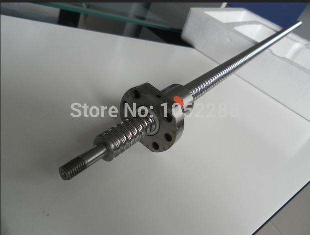 New opened 1pcs RM1204 -400mm ball screw guide+1pcs SFU1204 single nut with end machined for cnc beaudoin s wise young fool