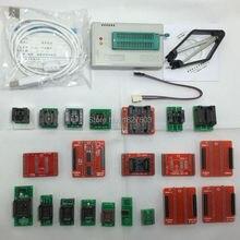 Support ICSP TL866 TL866A minipro Programador Universal de Alta velocidade Suporte  MCU FLASH  EEPROM SOP  PLCC  TSOP + 21 adaptadores