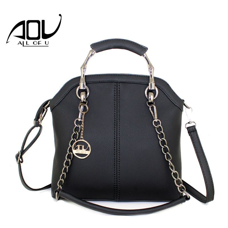 AOU Fashion Women bags luxury handbags designer crossbody bags for women tote bag women messenger bags bolsas sac a main Black aou new women classic bag brand chains bags women s fashion shoulder bag red celebrity crossbody bag sac a main china gift