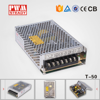 Steady CE Approved T 50C 5v 12v 24v Trip Output Dc Power Supply
