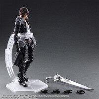 PLAY ARTS 27cm Final Fantasy VIII Squall Leonhart Action Figure Model Toys