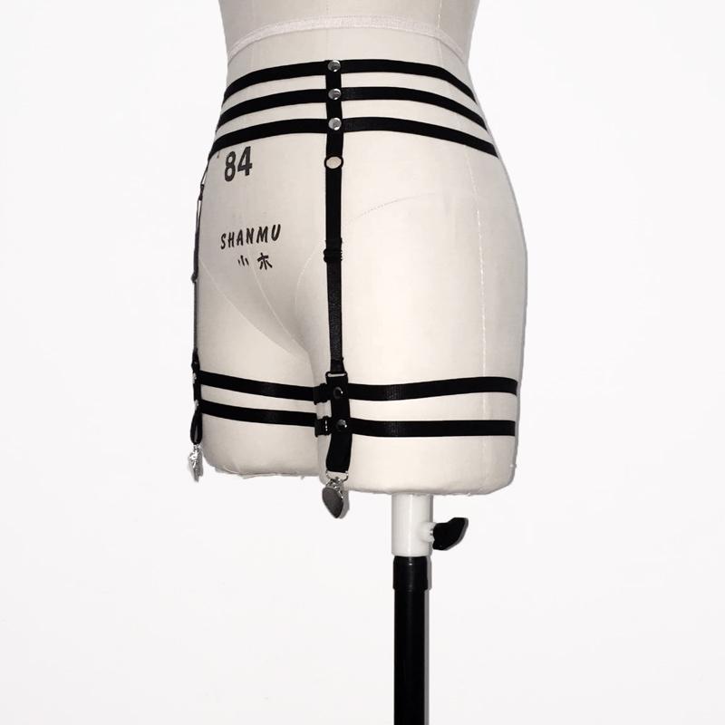 HTB1xQbcQFXXXXXmXpXXq6xXFXXXw Sexy Bondage Fetish Wear Lingerie Elastic Band Stockings Garter Belt For Women