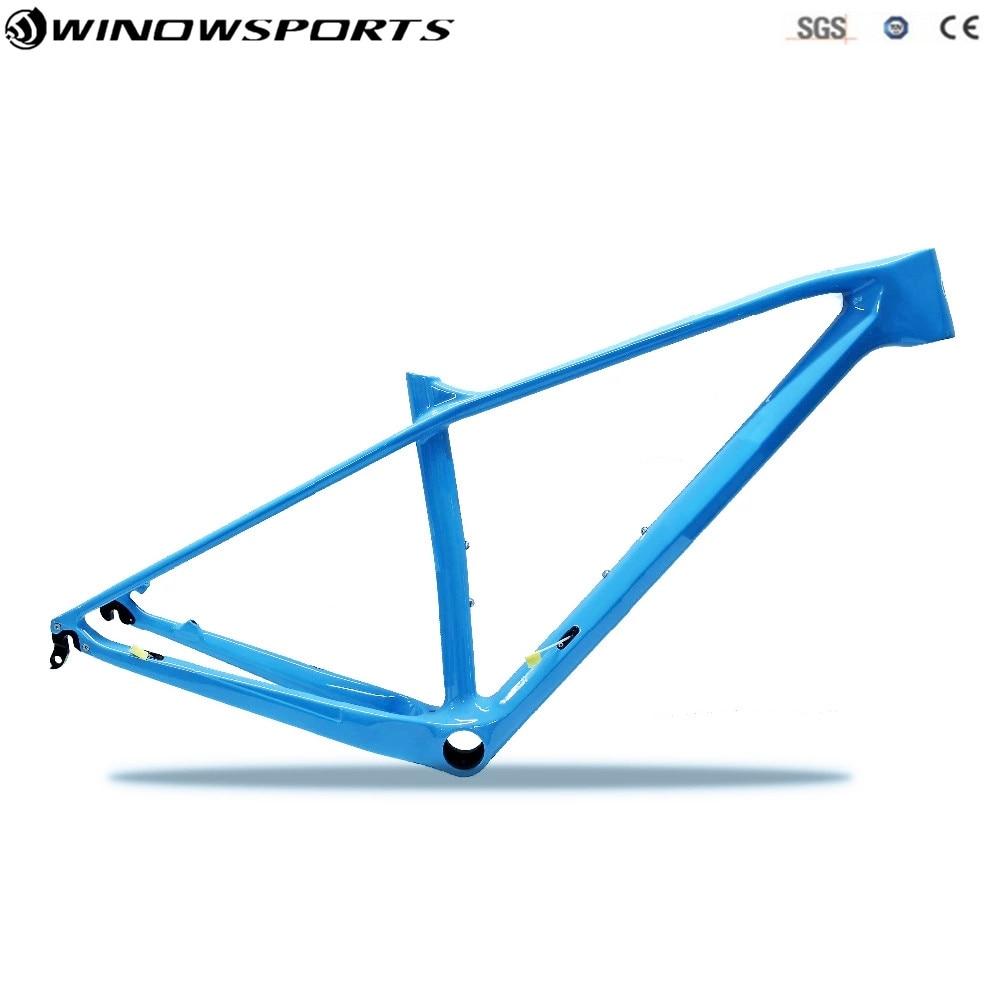 29er Carbon Mountain Bike Frame Axle Thru 142x12 27.5er MTB Carbon Frame 29er Size XS/S/M/L Disc Carbon Mtb Bike Frameset