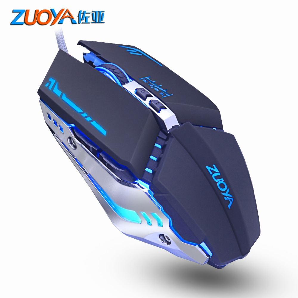 Professional Gaming Mouse Adjustable 5500 DPI 7 Button Optical USB Wired Computer Mouse Mause Gamer Mice For PC Laptop