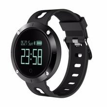 Trozum SmartBand DM58 сердечного ритма Смарт часы IP68 Водонепроницаемый крови Давление фитнес-трекер Спорт браслет для IOS Android