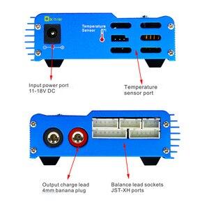 Image 4 - HTRC iMAX B6 80W 6A סוללה מטען Lipo NiMh ליתיום Ni Cd הדיגיטלי RC מטען Lipro מאזן מטען פורק + 15V 6A מתאם