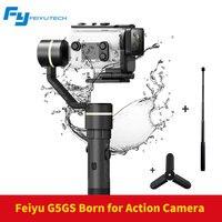 FeiyuTech Feiyu G5GS Gimbal 3 оси Ручной Стабилизатор для sony AS50 AS50R sony X3000 X3000R Камера брызг для 130 г 200 г