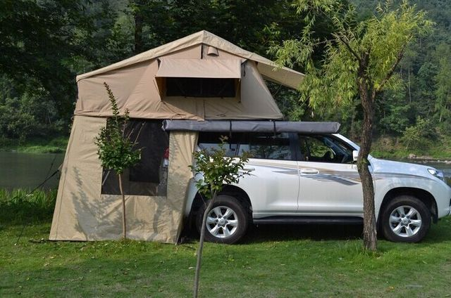 Merry christmas Car c&ing travel outdoor roof tent double couple driving rain-proof vehicle canvas & Merry christmas Car camping travel outdoor roof tent double couple ...