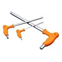 Klucz uniwersalny klucz sześciokątny klucz imbusowy typ T uchwyt antypoślizgowy końcówka kulowa 2.5mm 4mm 12mm 14mm sześciokątny zestaw kluczy imbusowych narzędzia ręczne w Klucze od Narzędzia na