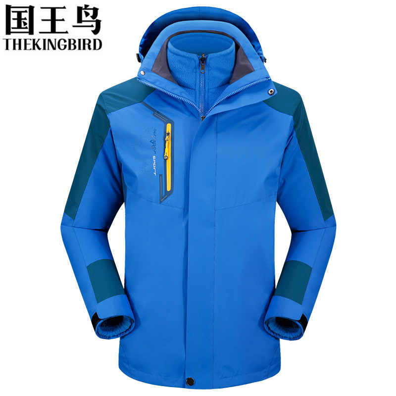 Brand Outdoor soft shell jacket Waterproof sports men Windproof Climbing Hiking clothes skiing Coats winter jacket 3 in 1 2015 new outdoor climbing clothes two piece men sports suits coats winter waterproof men s skiing jacket snowboard outerwear