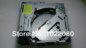 In dash 6 Disk CD Changer Mechanism Car 6DVD Loader Replacement  for old type AUDI A4