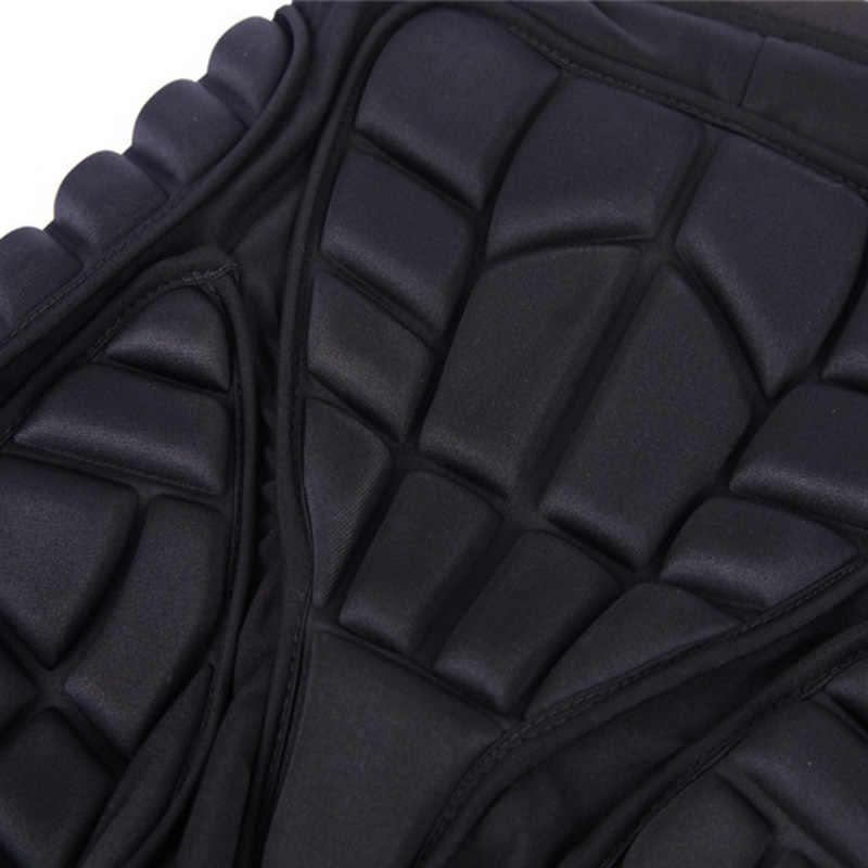 通気性メンズ圧縮ショーツフィットネスワークアウトヒッププロテクターパッド入りショーツ脚ギア保護レッグウォーマー