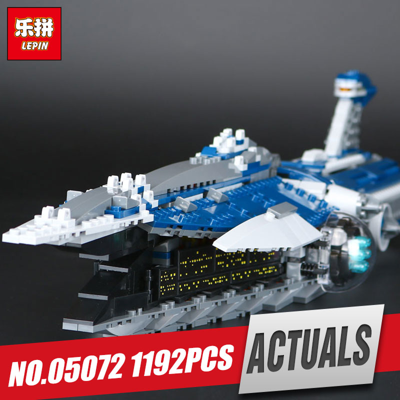 Lepin 05072 1192Pcs Star Series The Limited Edition Malevolence Warship Set Children Building Blocks Bricks War Toys Model 9515 lepin 05035 star wars death star limited edition model building kit millenniums blocks puzzle compatible legoed 75159