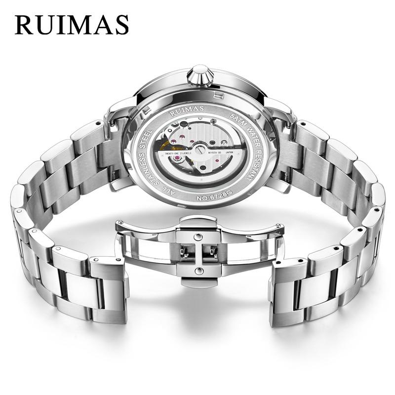 RUIMAS Luxury Quartz Men Watch Relogio Masculino Topp Märke Fashion - Herrklockor - Foto 5