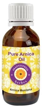 FRee Shipping Pure Arnica Oil Arnica montana 100% Natural Therapeutic Grade Cold Pressed 5ML недорого